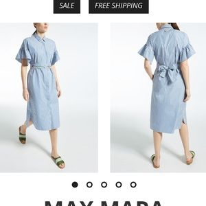 Weekend Max Mara Cotton poplin dress size 10